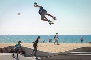 o724 Contact Skate Board
